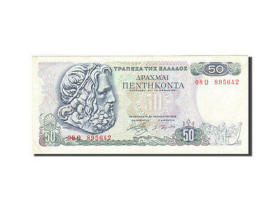[#264697] Greece, 50 Drachmai, 1978, KM:199a, 1978-12-08, EF(40-45)