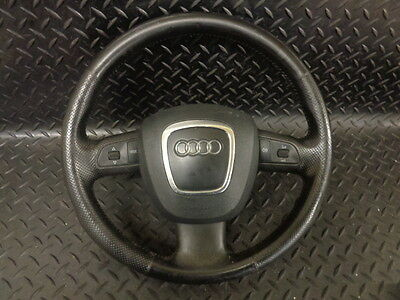 2007 Audi A4 2.0 Tdi S Line 4Dr Multi Function Leather Steering Wheel