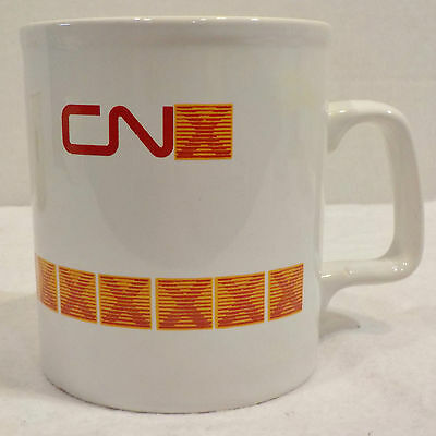 CN X Canadian National Railway Railroads Trains Mug Cup
