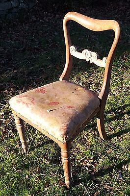 Very pretty little antique, shabby chic, vintage chair.