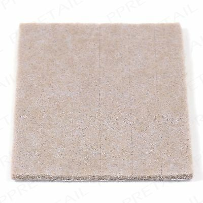LARGE THICK FELT PAD STRIPS +STICKY BACKING+ Furniture/Table/Chair/TV/Telephone