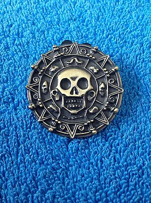 Pirates of the Caribbean Aztec Coin Disney Pin