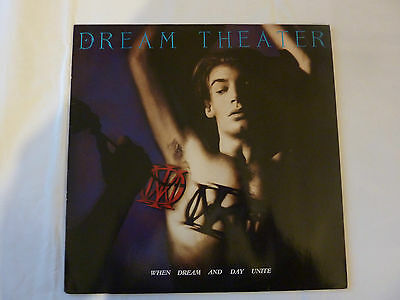 DREAM THEATER When dream and day unite LP 1989 first Germany version Mechanic