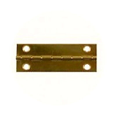 Pair of  Brass Butt Hinges 40mm x 15mm, Ideal For Dolls Houses