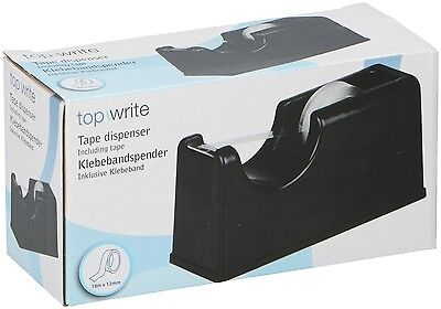 Tape Dispenser Desktop Home Office Sellotape Including Tape Wrapping Presents