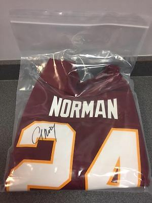 Josh Norman Signed Nike Replica Game Jersey Authentic Autographed Redskins STH