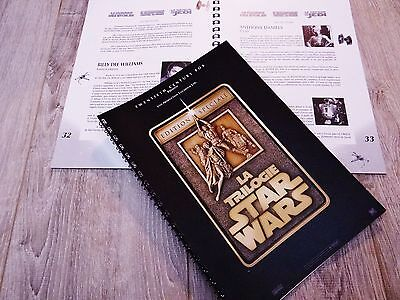 STAR WARS  TRILOGIE  !  dossier  presse cinema  50 pages