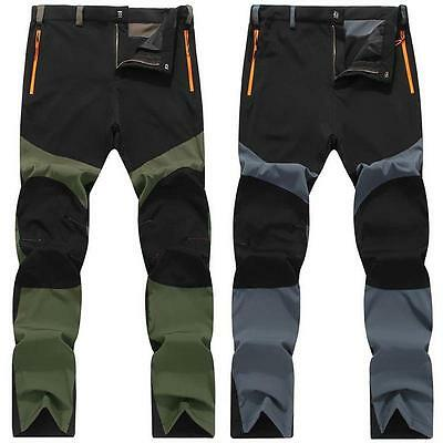 New Hot Men's Outdoor Sports Snowboard Pants Waterproof Hiking Trousers Thin