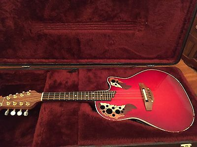 Ovation MM68 Acoustic/Electric Mandolin