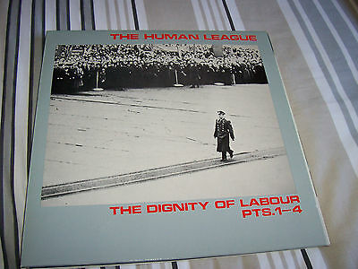 """The Human League - Dignity Of Labour - 12 """" Single"""