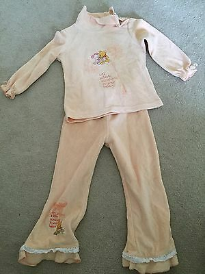 Disney Baby Girl's Winnie The Pooh Top And Trousers Set 95cm (2-3 Years)
