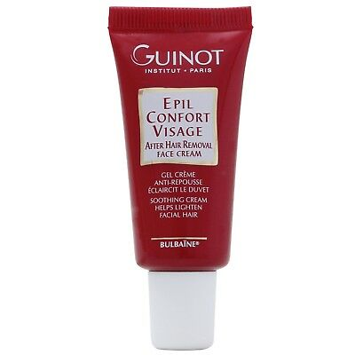 NEW Guinot Epil Confort Visage After Hair Removal Soothing Face Cream 15ml