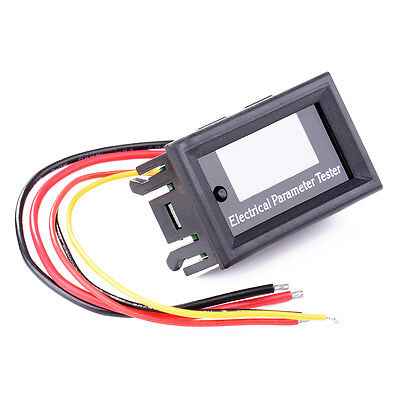 7-in-1 OLED Electrical Parameter Meter Voltage Current Power Energy Tester TE541