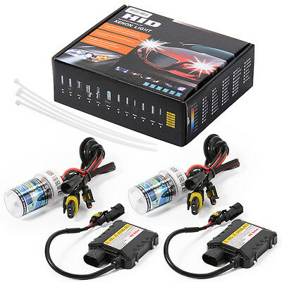 H8/H9/H11 55W 6000K AC HID Xenon Conversion Kit With Metal Based BULB LD714