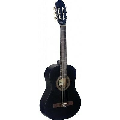 Stagg C410 1/2 Size Classical Guitar - Black