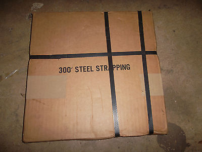 """5/8"""" Steel Strapping 300 ft strap 0.020"""