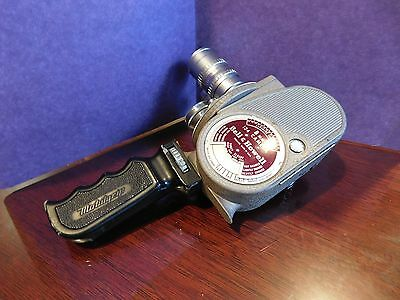 Vintage Bell & Howell 134 8mm Turret Style Movie Camera