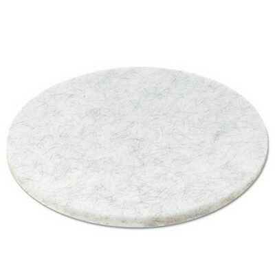 Ultra High-Speed Floor Pads, Natural Hair/Polyester, 20-Inch Diameter, 5/Carton