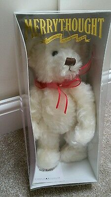 "Merry Thought Mohair Bear 15"" Limited edition 1 of 750, New, boxed"