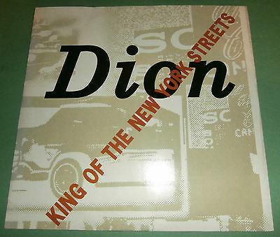 "Dion - King Of The New York Streets - Excellent - 12"" - Arista 612 556"
