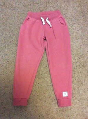Girls warm pants trousers Age 8 Years Pink  32 used a little Next