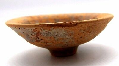 Roman Empire, 2nd-3rd century AD. Nice redware terracotta bowl