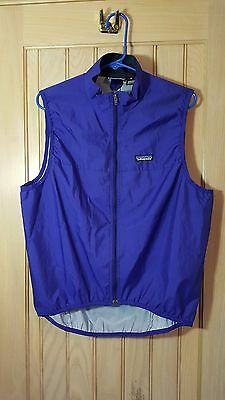 PATAGONIA PURPLE Full Zip Lightweight Packable Shell Sport Vest Size W-M / M-S