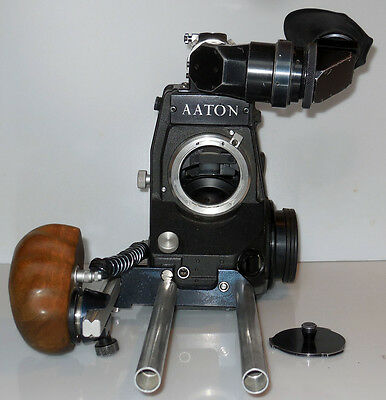 AATON super 16 camera - 4 magazines - heated eyepiece - flight cases - Arri S16