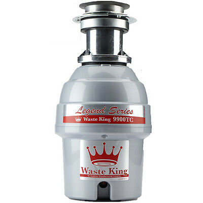Waste King 9900-TC 3/4-HP Professional 3-Bolt Mount Batch-Feed Garbage Disposer