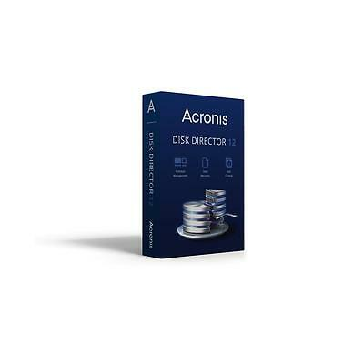 Acronis Vollversion Disk Director 12 Home / 1 PC / Mini / Software PC Notebook