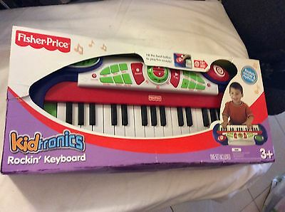 Fisher Price Kidtronics Rock'n Keyboard #44444 Great First Musical Instrument