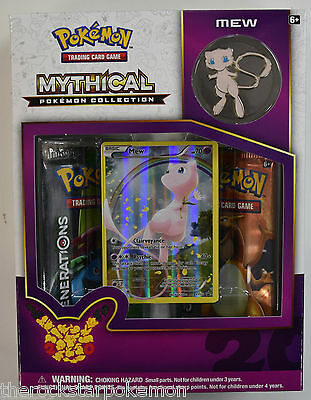 Pokemon Generations Mythical Mew Collection Box~Mint Factory Sealed