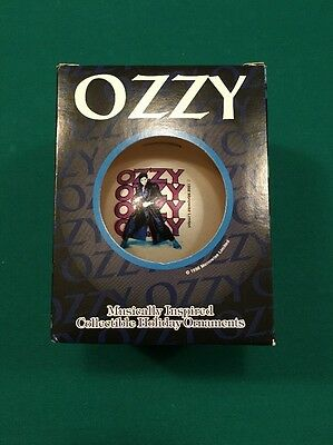 1998 OZZY OSBOURNE Collectible Christmas Holiday Ornament - New in Box