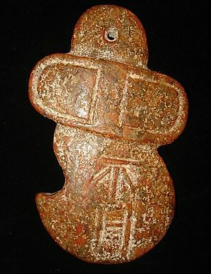Going out of business  STONE AMULET CHEST PECTORAL~~WRITING--DRAWING! 3000BC