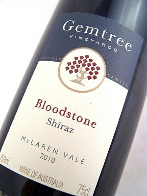 2010 GEMTREE Vineyards Bloodstone Shiraz Isle of Wine