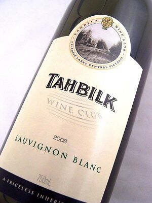 2008 CHATEAU TAHBILK Wine Club Sauvignon Blanc Isle of Wine