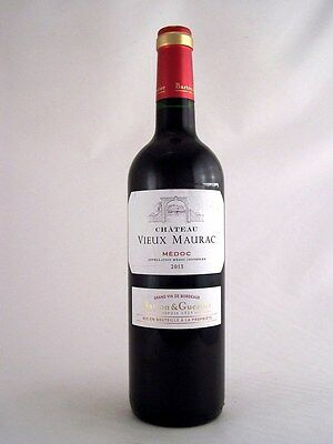 2013 CHATEAU Vieux Maurac Grand Vin Red Bordeaux Isle of Wine