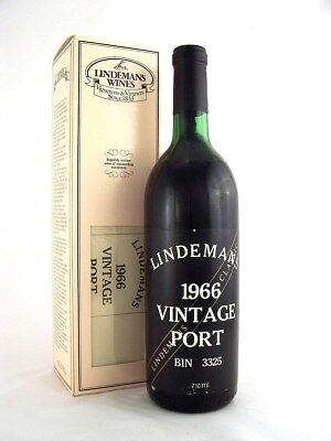 1966 LINDMANS Bin 3325 Vintage Port B Isle of Wine