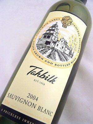 2004 CHATEAU TAHBILK Sauvignon Blanc Isle of Wine
