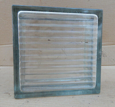 Vintage Clear Glass Building  Construction Glass Blocks Architectual Salvage
