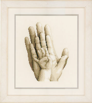 Hands : Vervaco Counted Cross Stitch Kit  PN0154230