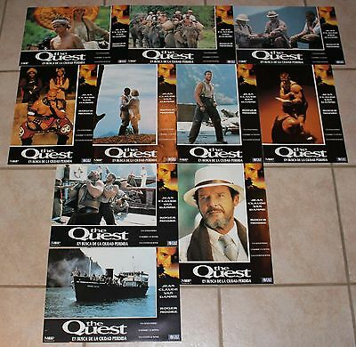Jean Claude van Damme lobby card set 10 Roger Moore The Quest