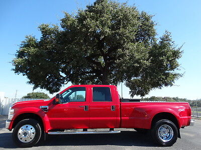 2008 Ford Super Duty F450 DRW  450 Dually 4X4 Leather Diesel Tow Pkg Extra Fuel Tank Spray Bed Liner Goose Neck
