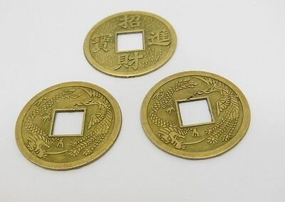 200Pcs Chinese Fengshui Auspicious I Ching Coins 23mm