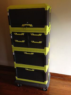 heavy duty tool and gear storage and transport system Ryobie