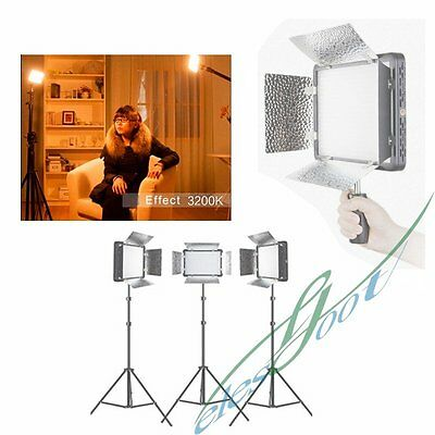 Godox LED500LRY (Lux: 2900) 3300K LED Video Continuous Light Lamp Panel【UK】