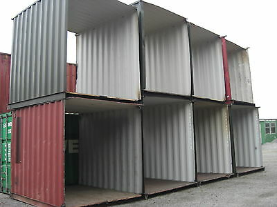 10ft x8ft Shipping / Storage Container / Store Tunnel Sections
