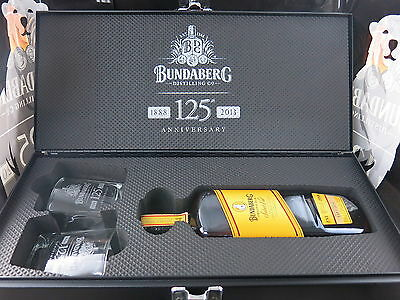 BUNDABERG RUM 125TH Anniversary Tool Box Mint Condition with Vat 374 Inside