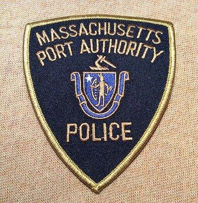 MA Massachusetts Port Authority Police Patch