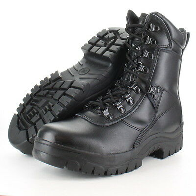 Highlander Boys Task Force 2 Leather Military Combat Boot